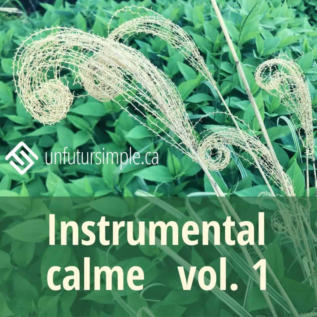 Instrumental calme vol. 1 - arrière-plan: plantes
