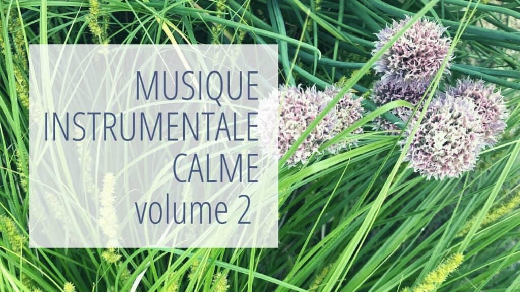 Musique instrumentale calme volume 2 - arrière-plan: plantes